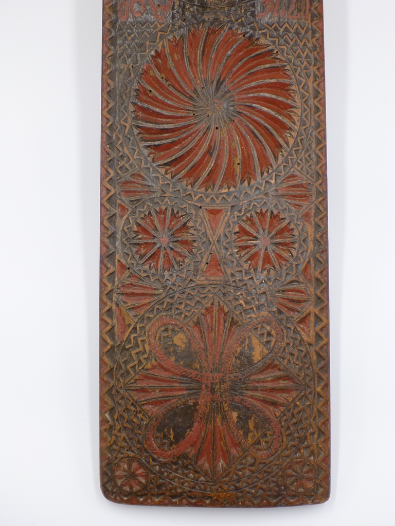 Symbolic mangle board from Denmark