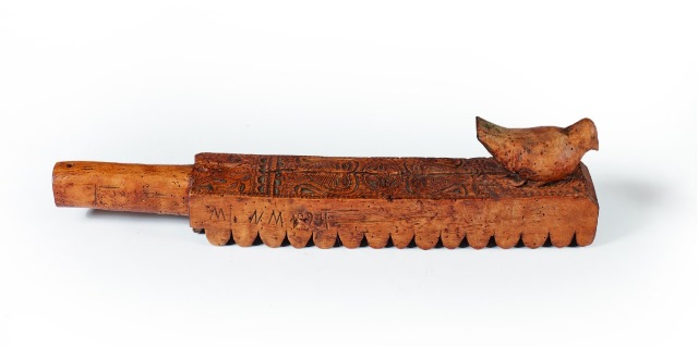 old mangle board from Hungary
